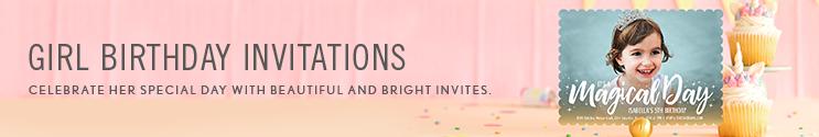 girl birthday invitations simply to impress