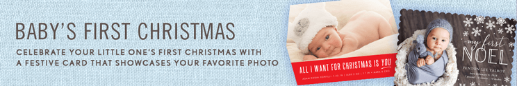 Baby Christmas Cards