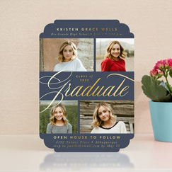 Graduation<br>Invitations