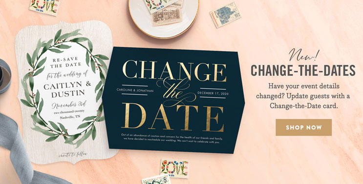 Change-the-Date Cards