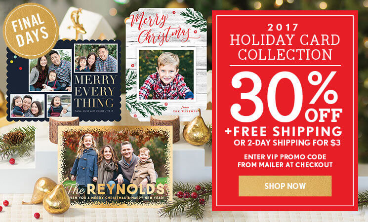 shop holiday photo cards - Simply To Impress Christmas Cards