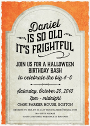 halloween party invitations halloween invitations simply to impress